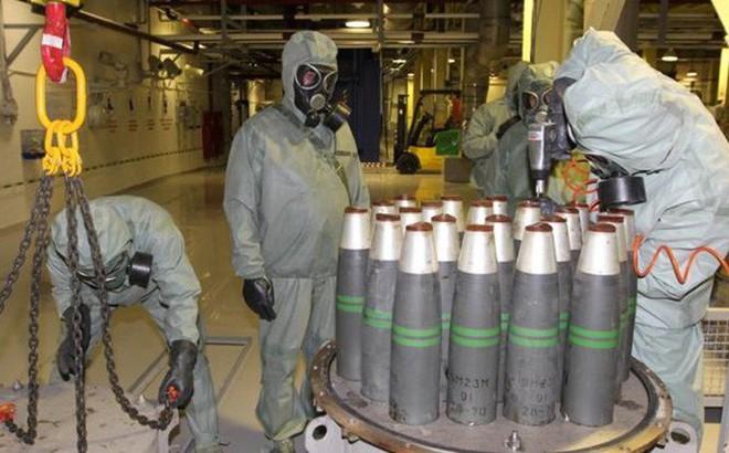 OPCW khẳng định vũ khí hoá học ở Syria được tiêu huỷ toàn diện