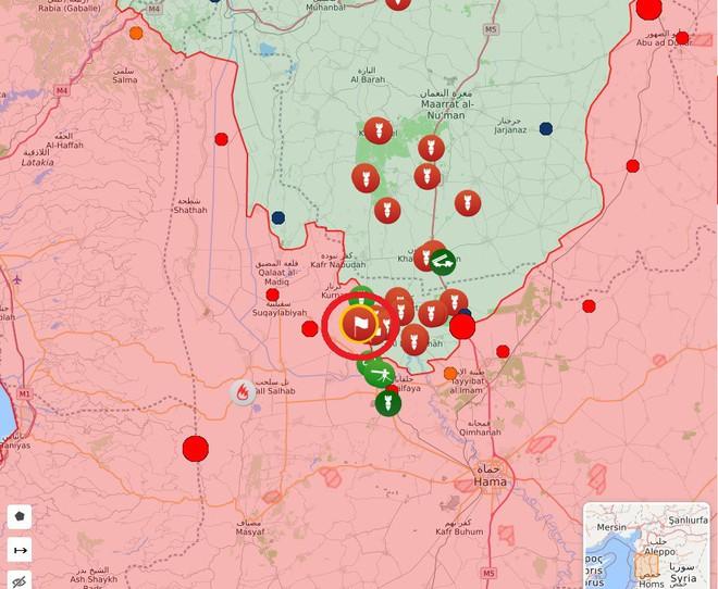 Phiến quân sụp đổ hàng loạt ở Bắc Hama- Đặc nhiệm Nga liên thủ cùng quân đội Syria lập công lớn - Ảnh 2.