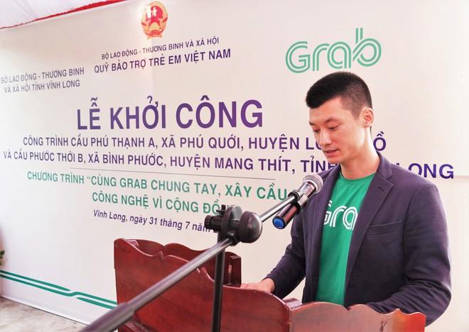 Khởi công xây dựng hai cây cầu đầu tiên của Dự án Cùng Grab Chung Tay - Xây Cầu Đến Lớp - Ảnh 2.