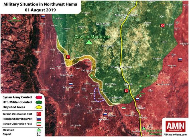 Phiến quân sụp đổ hàng loạt ở Bắc Hama- Đặc nhiệm Nga liên thủ cùng quân đội Syria lập công lớn - Ảnh 1.