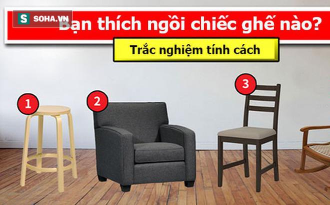 Sofa hay ghế tựa? Bạn chọn ngồi cái nào cũng bộc lộ hết tính cách ẩn sâu bên trong