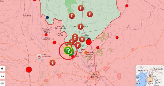 Phiến quân sụp đổ hàng loạt ở Bắc Hama- Đặc nhiệm Nga liên thủ cùng quân đội Syria lập công lớn - Ảnh 10.