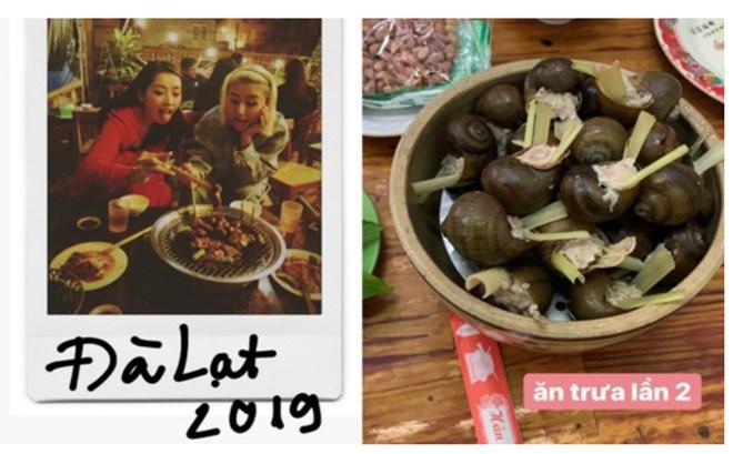 Du lịch Đà Lạt trúng ngay mùa mưa bão, Chi Pu và cô bạn Quỳnh Anh Shyn chỉ biết ngậm ngùi ăn cho bỏ tức!