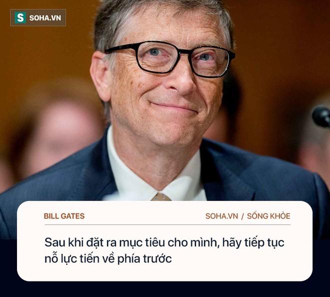 Tỉ phú Bill Gates: Chìa khóa để hạnh phúc, khỏe mạnh là làm 4 việc, không cần đến tiền - Ảnh 2.