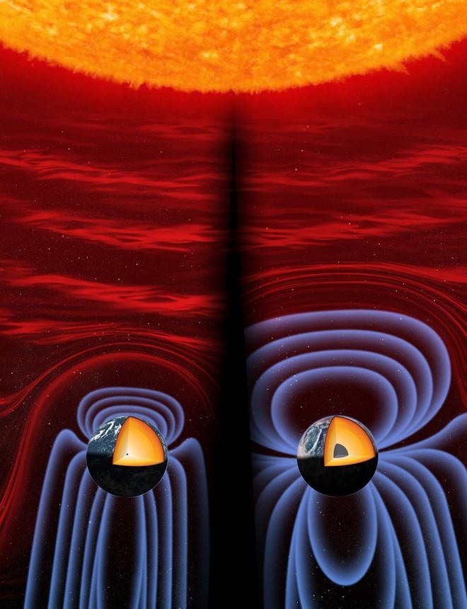 Từ trường Trái Đất biểu hiện bất thường: 'Địa ngục' 5000 độ trong lòng đất 'có bệnh'? - ảnh 3