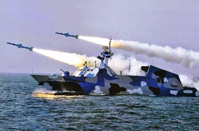 [ẢNH] Trung Quốc gây bất ngờ khi sớm loại biên tàu tên lửa tàng hình Type 022 - Ảnh 11.