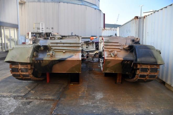 Thú vị xe tăng Leopard 1A3 trong tình trạng bị cắt dọc - Ảnh 7.