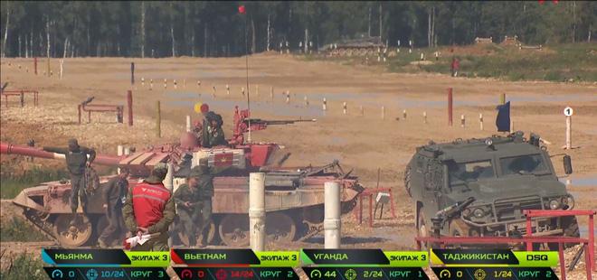 Tank Biathlon 2019: Đặc biệt lo lắng về các sự cố của xe tăng Việt Nam - T-72B3 chưa bao giờ lỗi nhiều như thế - Ảnh 2.