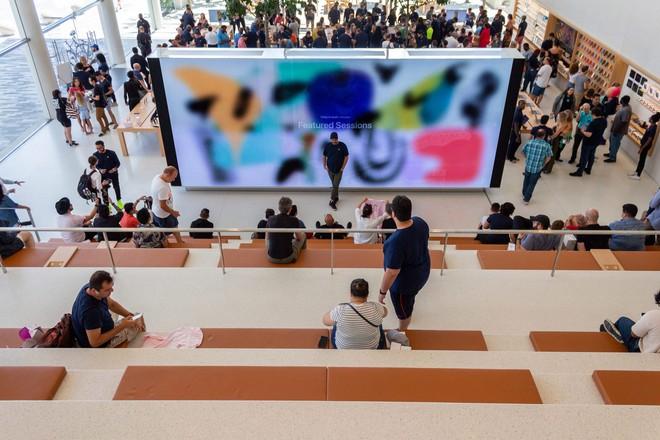 Chiêm ngưỡng Apple Store siêu đẹp với thiết kế lấy cảm hứng từ bãi biển nhiệt đới - Ảnh 7.