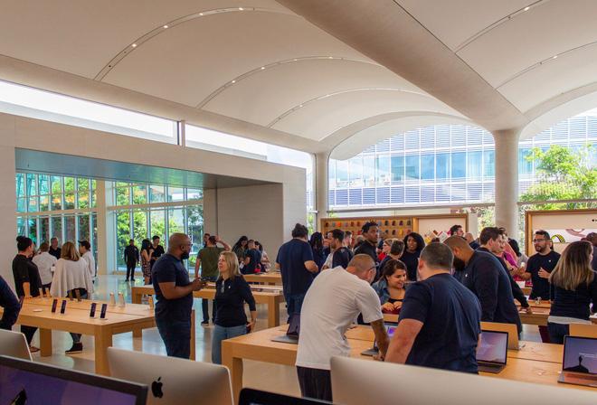 Chiêm ngưỡng Apple Store siêu đẹp với thiết kế lấy cảm hứng từ bãi biển nhiệt đới - Ảnh 17.