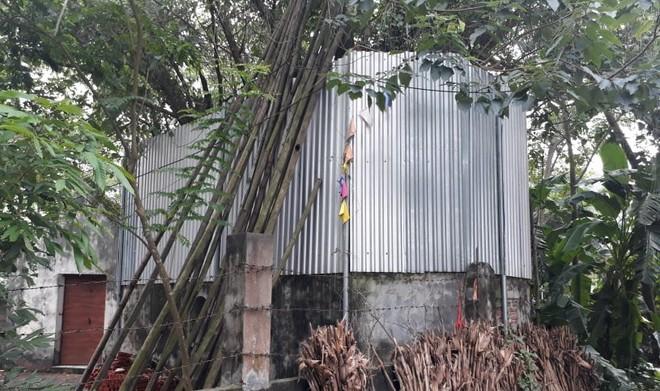 Cả làng quây tôn, dựng chốt bảo vệ cây sưa 22 tỷ ở Vĩnh Phúc - Ảnh 4.
