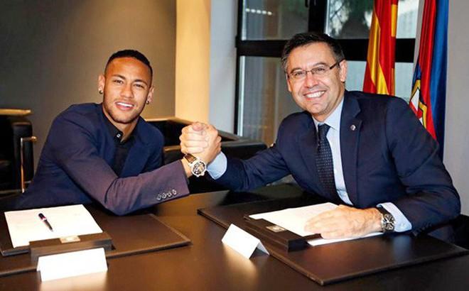 Chủ tịch Barcelona chuẩn bị gặp Neymar ở Liverpool