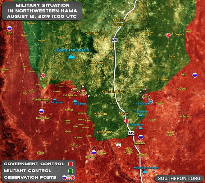 Khủng bố ồ ạt tấn công đầu não KQ Nga ở Khmeimim, QĐ Syria trút hỏa lực hủy diệt phiến quân - Ảnh 2.