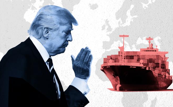 """WSJ: Tung đòn hợp lý, ông Trump khiến kinh tế TQ lâm nguy - TQ gặp hạn, Mỹ """"gặp thời""""?"""