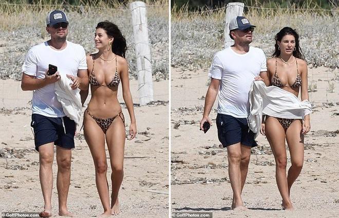 Bạn gái kém 22 tuổi của ông chú bụng bia Leonardo DiCaprio khoe dáng bốc lửa - Ảnh 1.