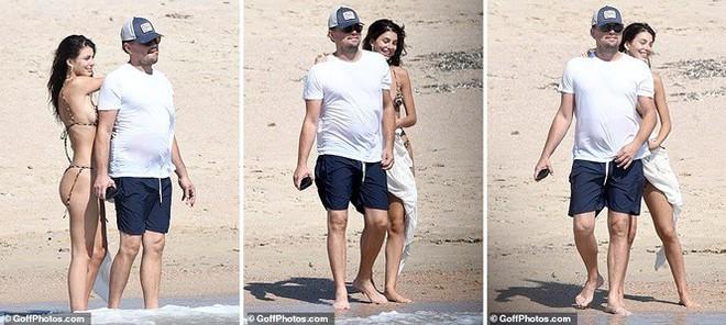 Bạn gái kém 22 tuổi của ông chú bụng bia Leonardo DiCaprio khoe dáng bốc lửa - Ảnh 2.