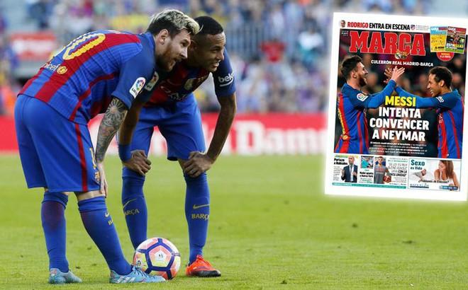 "Messi ra mặt, Barcelona ôm ""núi tiền"" sang Paris đón Neymar"
