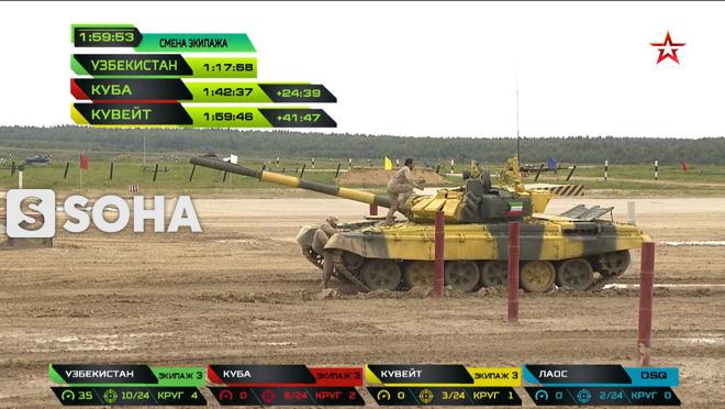 Sự cố đặc biệt nghiêm trọng đầu tiên tại Tank Biathlon 2019 - Lộ đối thủ của Việt Nam ở chung kết - Ảnh 9.