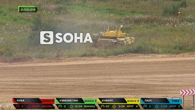 Sự cố đặc biệt nghiêm trọng đầu tiên tại Tank Biathlon 2019 - Lộ đối thủ của Việt Nam ở chung kết - Ảnh 2.