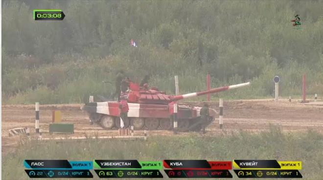 Sự cố đặc biệt nghiêm trọng đầu tiên tại Tank Biathlon 2019 - Lộ đối thủ của Việt Nam ở chung kết - Ảnh 37.
