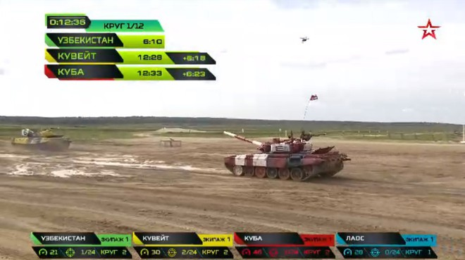 Sự cố đặc biệt nghiêm trọng đầu tiên tại Tank Biathlon 2019 - Lộ đối thủ của Việt Nam ở chung kết - Ảnh 34.