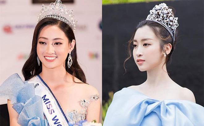 """""""Chị gái song sinh"""" Đỗ Mỹ Linh như thế nào trong mắt Hoa hậu Lương Thùy Linh?"""