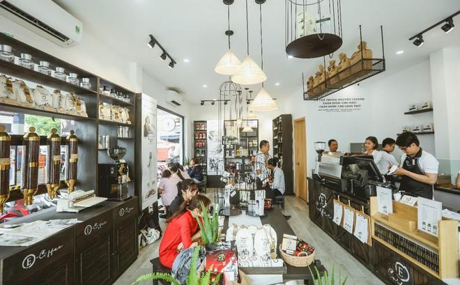 Trung Nguyên E-coffee và mục tiêu trở thành hệ thống cửa hàng cà phê hàng đầu Việt Nam