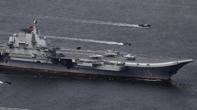 Số lượng tiêm kích hạm trên tàu sân bay nội địa Type 002 Trung Quốc gây bất ngờ - Ảnh 3.