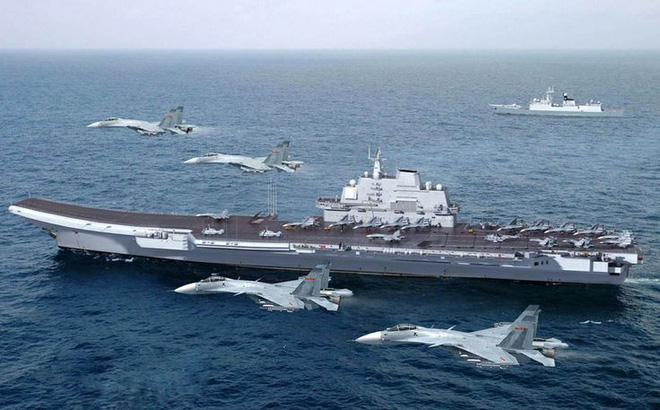 Số lượng tiêm kích hạm trên tàu sân bay nội địa Type 002 Trung Quốc gây bất ngờ