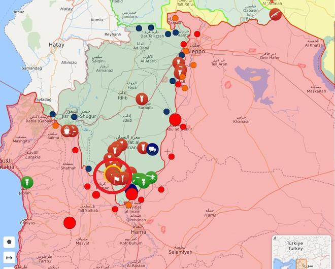 QĐ Syria bắt sống nhiều tăng thiết giáp, phiến quân vỡ trận Nam Idlib, tháo chạy như ong vỡ tổ - Ảnh 6.