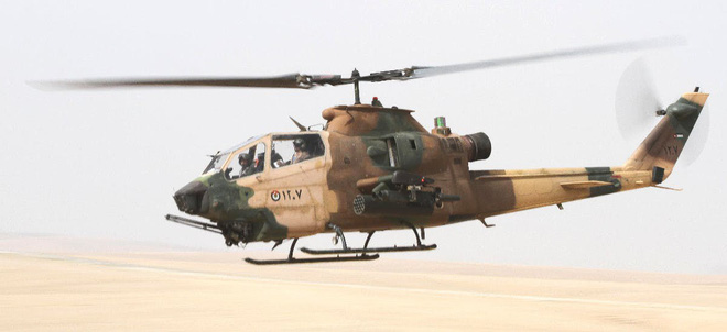 Jordan thanh lý trực thăng AH-1F cho quốc gia Đông Nam Á với giá siêu rẻ - Ảnh 3.