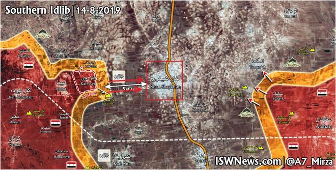 QĐ Syria bắt sống nhiều tăng thiết giáp, phiến quân vỡ trận Nam Idlib, tháo chạy như ong vỡ tổ - Ảnh 5.