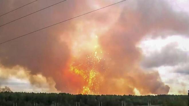Động cơ tên lửa hạt nhân Nga phát nổ: Toàn bộ một ngôi làng đã được lệnh sơ tán? - ảnh 2
