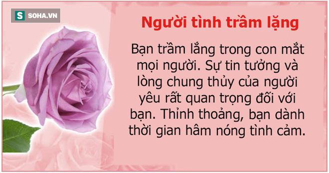Bạn thích bông hoa nào? Màu sắc của chúng cũng tiết lộ cá tính con người bạn - Ảnh 5.