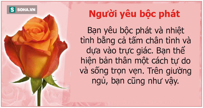 Bạn thích bông hoa nào? Màu sắc của chúng cũng tiết lộ cá tính con người bạn - Ảnh 7.