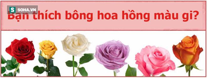 Bạn thích bông hoa nào? Màu sắc của chúng cũng tiết lộ cá tính con người bạn - Ảnh 1.