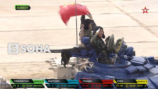 Đội Việt Nam xuất sắc về đích thứ 2 tại chung kết Tank Biathlon - Kỳ tích lịch sử - Ảnh 6.
