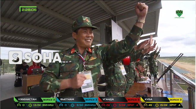 Đội Việt Nam xuất sắc về đích thứ 2 tại chung kết Tank Biathlon - Kỳ tích lịch sử - Ảnh 7.