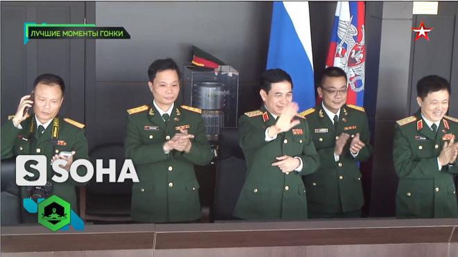Đội Việt Nam xuất sắc về đích thứ 2 tại chung kết Tank Biathlon - Kỳ tích lịch sử - Ảnh 2.