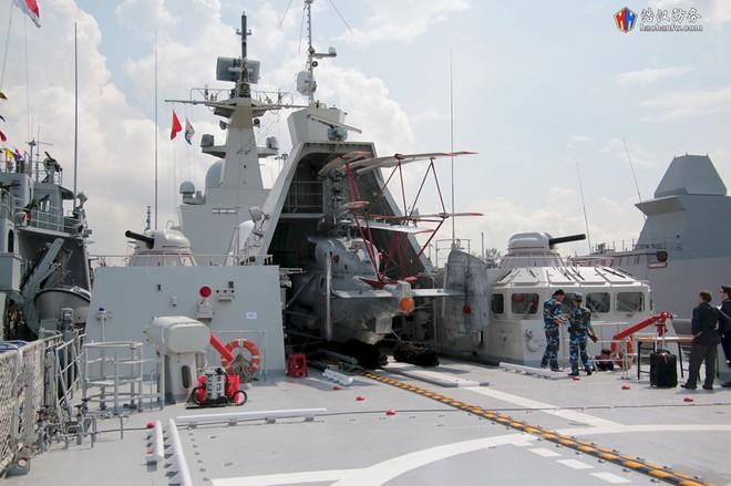 Tàu 016-Quang Trung: Chiến hạm lớn và hiện đại nhất Việt Nam đẹp đến ngỡ ngàng - Ảnh 14.