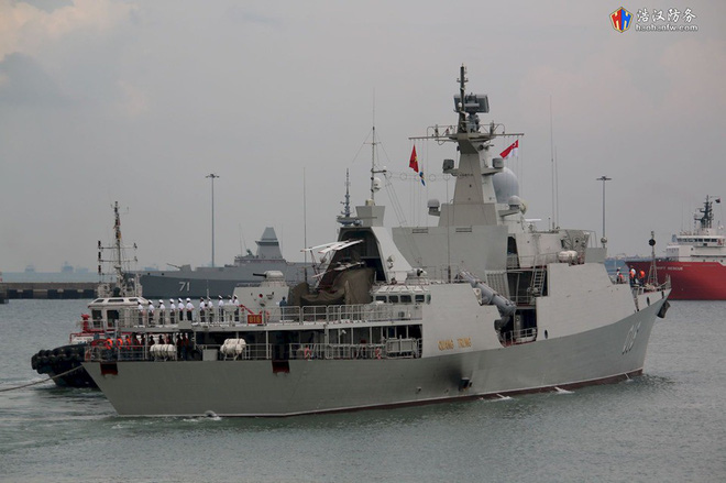 Tàu 016-Quang Trung: Chiến hạm lớn và hiện đại nhất Việt Nam đẹp đến ngỡ ngàng - Ảnh 15.