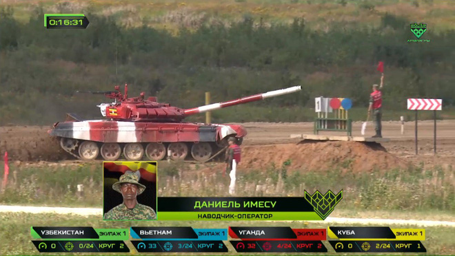 Đội Việt Nam xuất sắc về đích thứ 2 tại chung kết Tank Biathlon - Kỳ tích lịch sử - Ảnh 60.