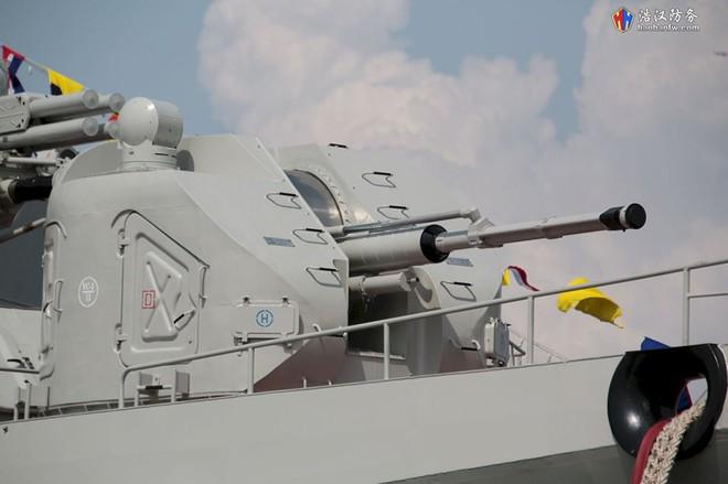 Tàu 016-Quang Trung: Chiến hạm lớn và hiện đại nhất Việt Nam đẹp đến ngỡ ngàng - Ảnh 4.