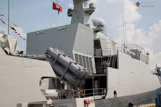 Tàu 016-Quang Trung: Chiến hạm lớn và hiện đại nhất Việt Nam đẹp đến ngỡ ngàng - Ảnh 8.