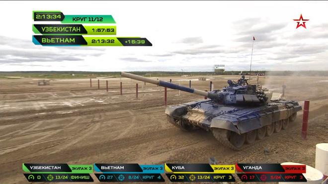 Đội Việt Nam xuất sắc về đích thứ 2 tại chung kết Tank Biathlon - Kỳ tích lịch sử - Ảnh 12.