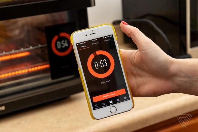 Lò nướng thông minh tự động bật lúc nửa đêm, tăng nhiệt độ đến 400 độ C - Ảnh 1.