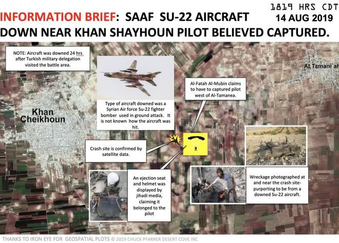 Bí ẩn số phận phi công trên chiến đấu cơ Sukhoi vừa bị bắn hạ - Chiến sự Syria nóng rực, phiến quân hoảng loạn - Ảnh 4.
