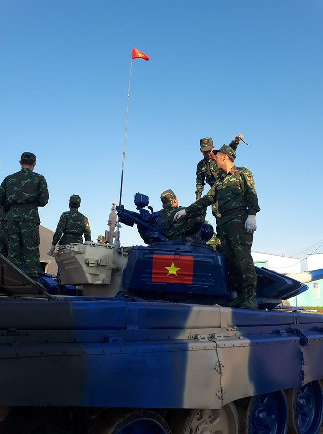 Đội Việt Nam xuất sắc về đích thứ 2 tại chung kết Tank Biathlon - Kỳ tích lịch sử - Ảnh 74.