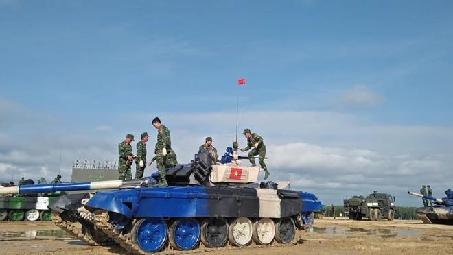 Đội Việt Nam xuất sắc về đích thứ 2 tại chung kết Tank Biathlon - Kỳ tích lịch sử - Ảnh 72.