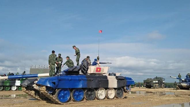Đội Việt Nam xuất sắc về đích thứ 2 tại chung kết Tank Biathlon - Kỳ tích lịch sử - Ảnh 71.